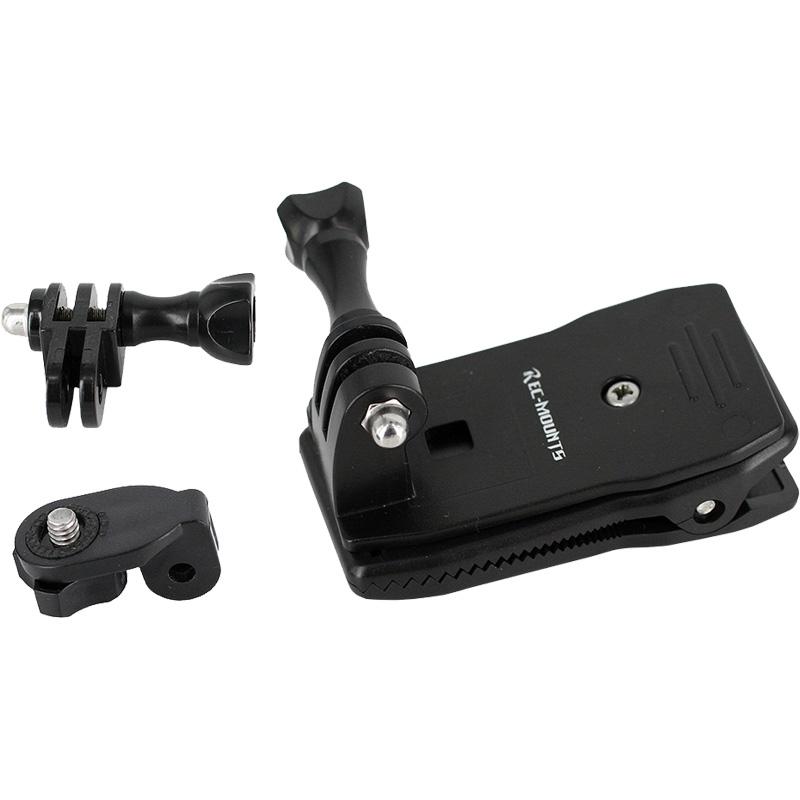 レックマウント REC-B53-CN 回転式クリップマウント Sony アクションカム対応