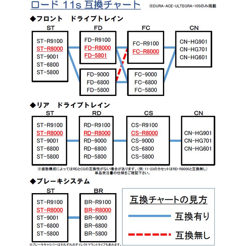 シマノ アルテグラ RD-R8000 11段 GS リアディレイラー