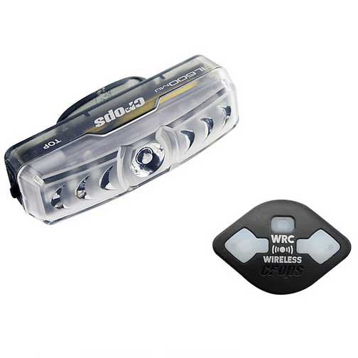 クロップス TL600mu ワイヤレスウィンカー付オートテールライト 自動点滅 USB充電