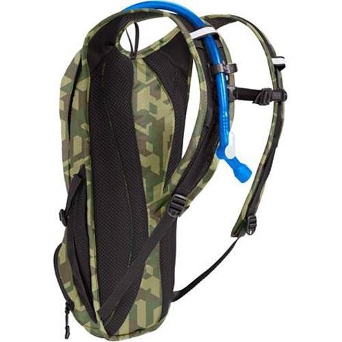キャメルバック ローグ カモフラージュ/ブラック ハイドレーションバッグ