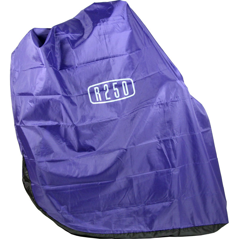 【特急】R250 縦型軽量輪行袋 江戸紫 フレームカバー・スプロケットカバー・輪行マニュアル付属