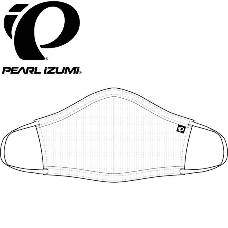 【M便】パールイズミ 【MSK-02】 夏用マスク 1.ホワイト 1枚 布マスク