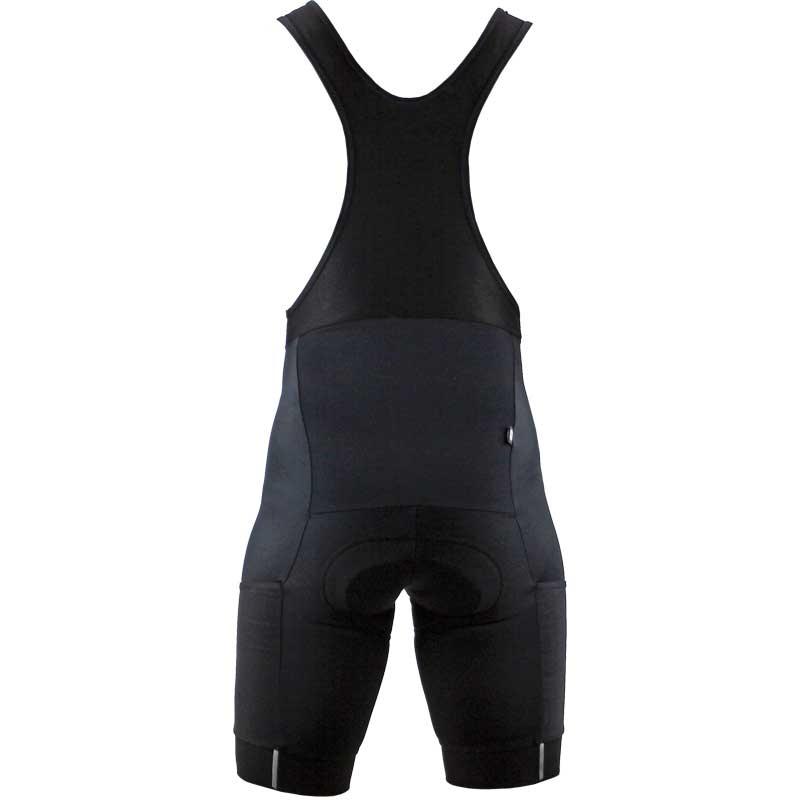 【特急】R250 ビブショーツ メンズ サイドポケット付き ブラック
