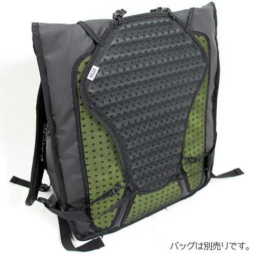 【特急】R250 バックパックパッド ブラック