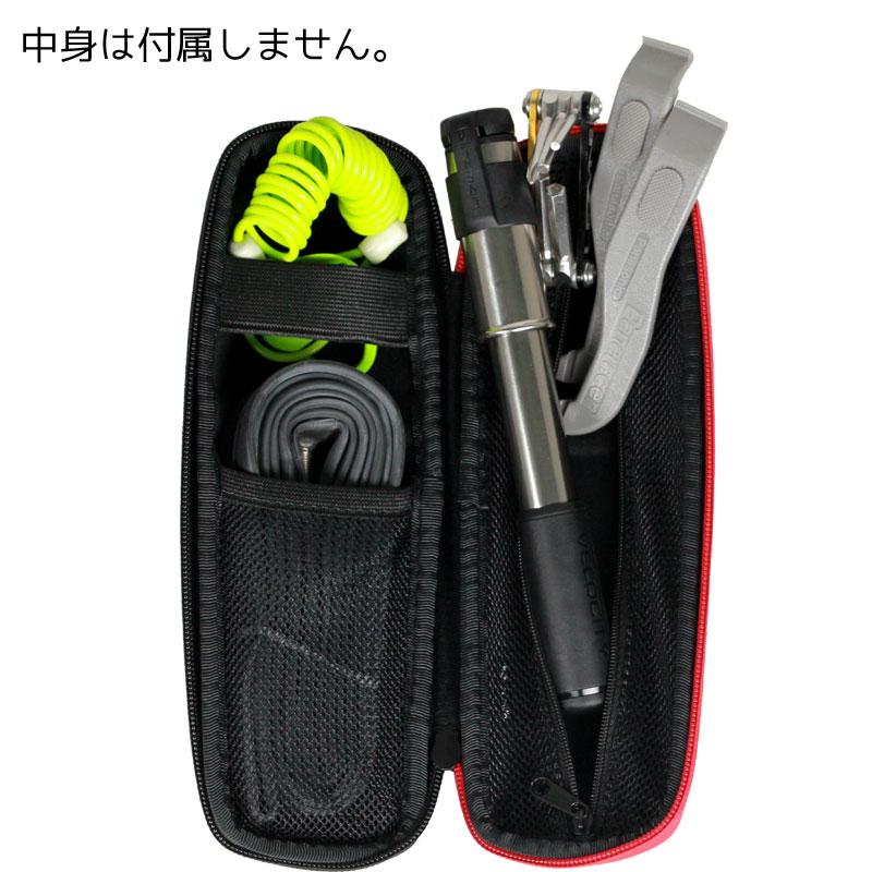 【特急】R250 ツールケース スリムロングタイプ カーボン柄/レッドファスナー