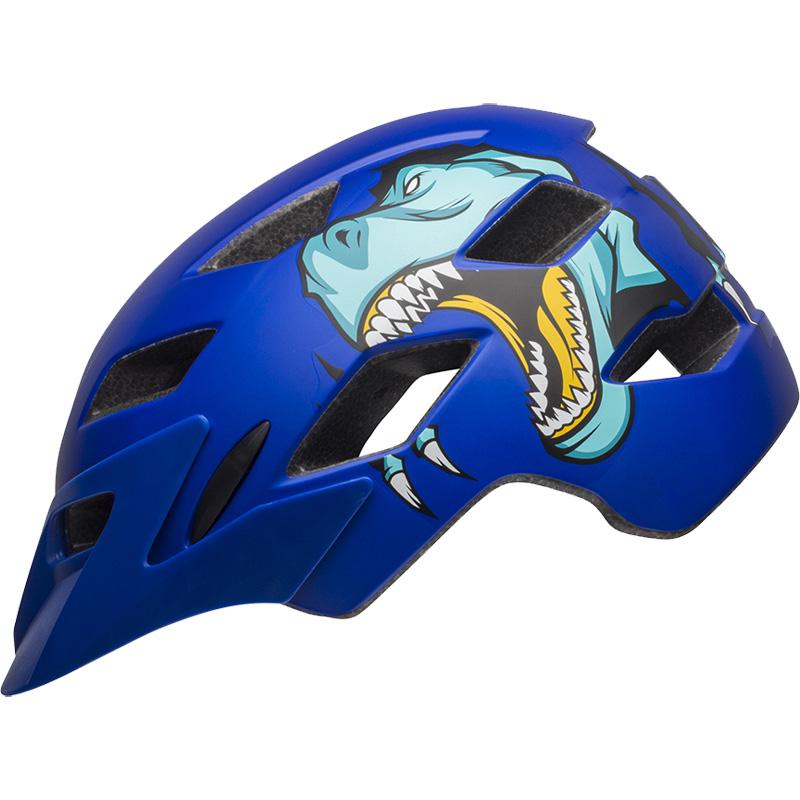 ベル サイドトラック マットブルーT-レックス ヘルメット