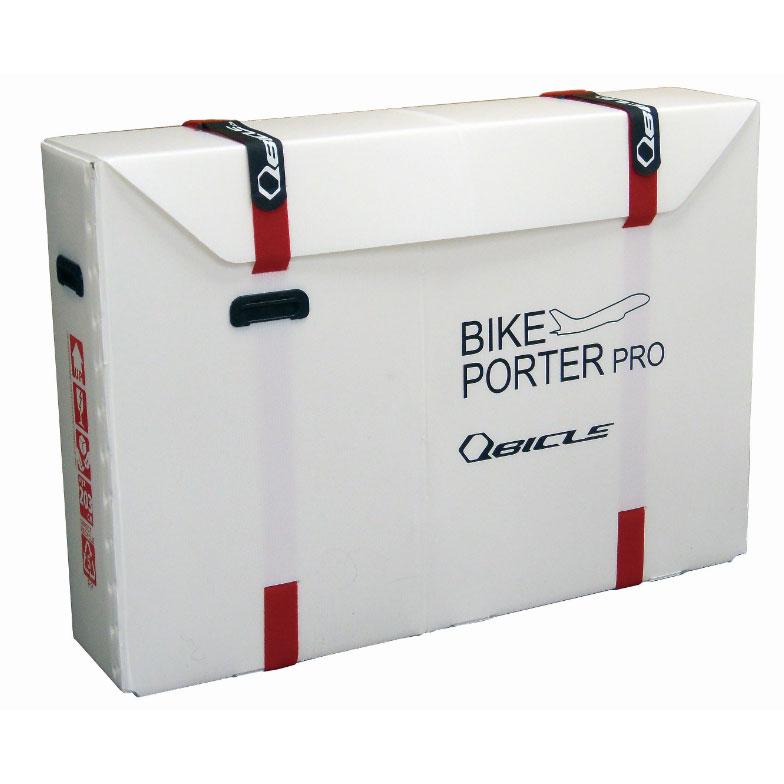 ★キュービクル バイクポーター(Bikeporter) プロサイズ ホワイト ベルト2本付