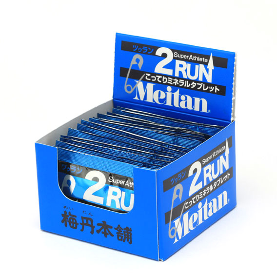 【特急】【お得な4箱セット】梅丹本舗 2RUN(ツゥラン) (2粒入×15袋)×4箱