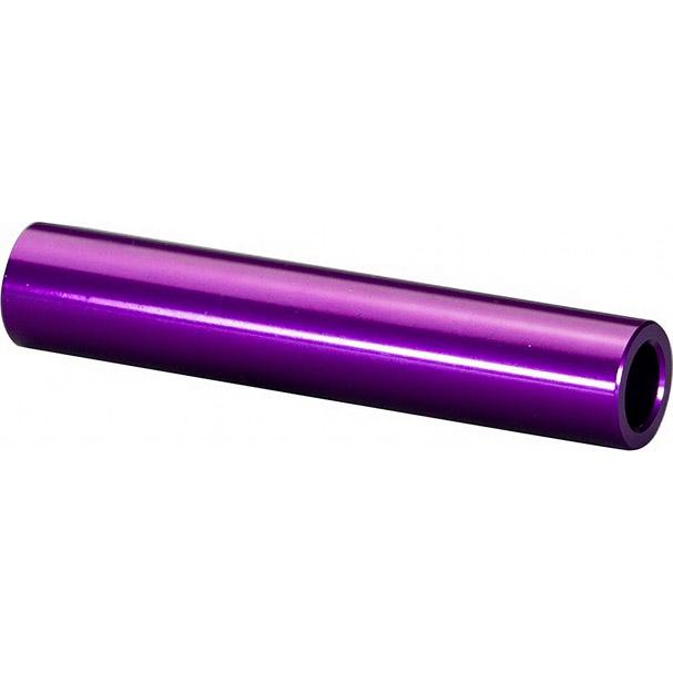 【特急】オーストリッチ 12mmスルーアクスル用エンド金具 フロント用 パープル