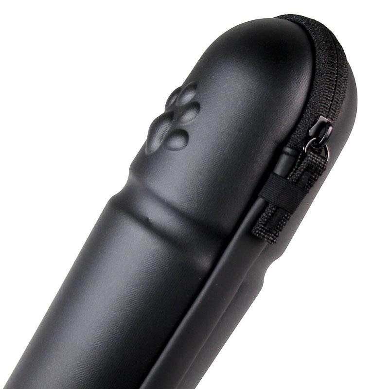 【特急】ポケマル 肉球ツールケース スリムロングタイプ ブラック