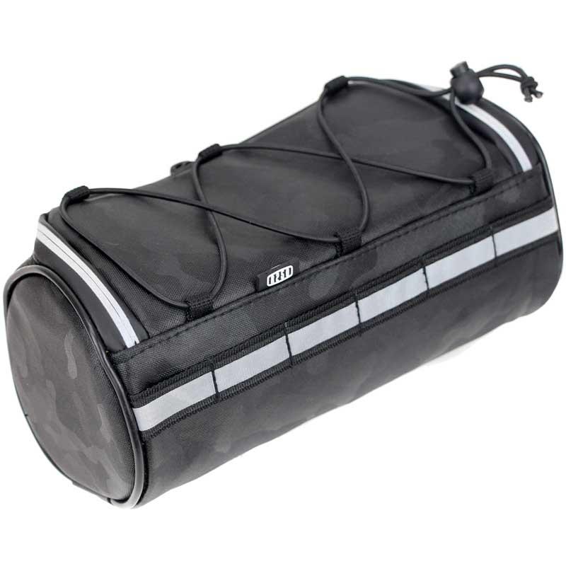 【特急】R250 ドラム型フロントバッグ スモール モノトーンカモフラ