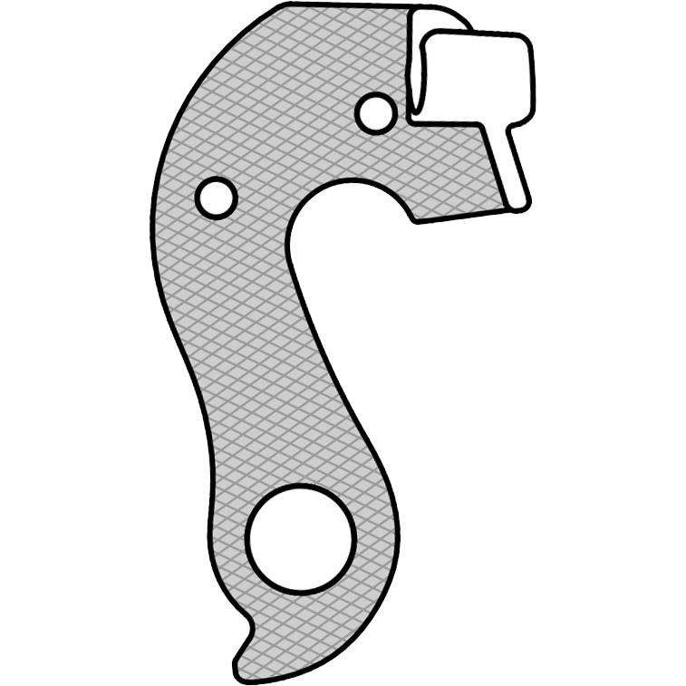 【M便】マーウィー GH-201 CUBE ディレイラーハンガー