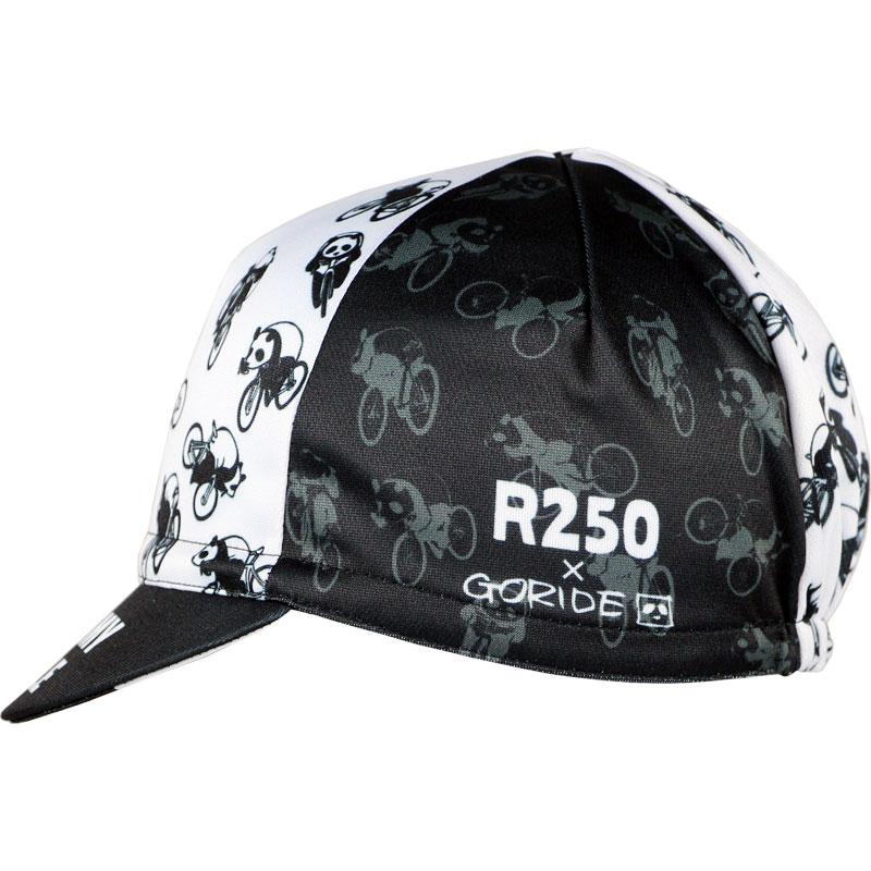 【特急】【M便】R250 GORIDE サイクルキャップ フルーミースタイルパンダ R250CAP
