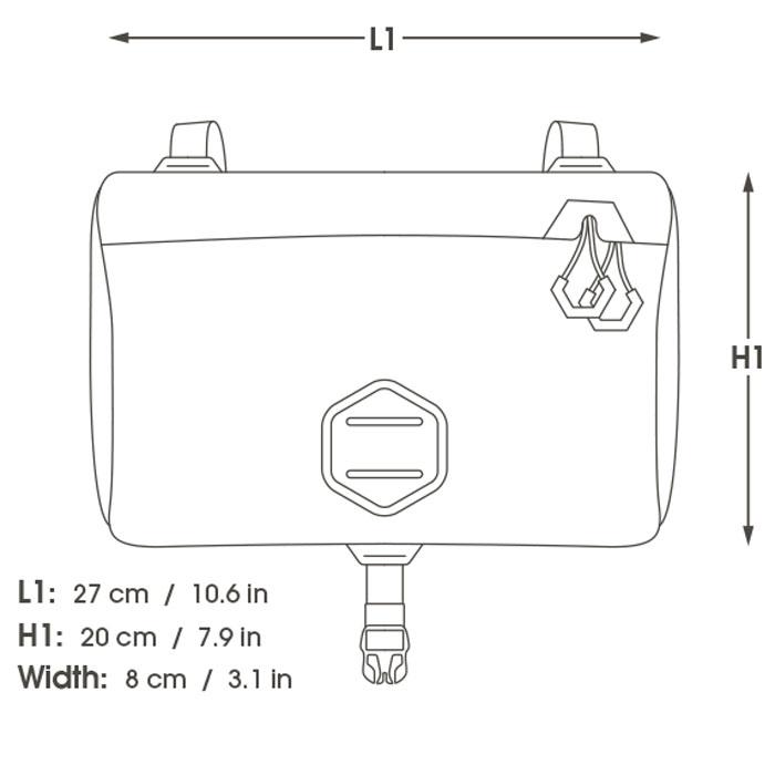 アピデュラ ドライ アクセサリーポケット 5L(レギュラー)