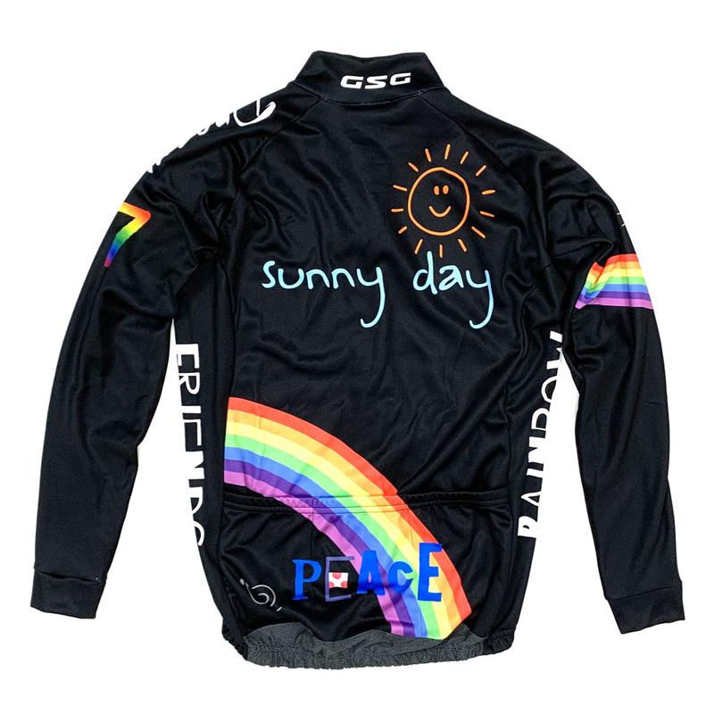 セブンイタリア Peace Sunny Day LS Jersey ブラック