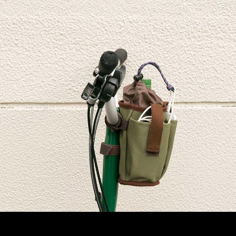 リンプロジェクト 【5100】マルチボトルホルダー キャンバス カーキ