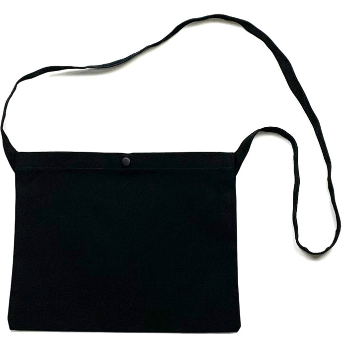 【M便】セブンイタリア Happiness Smile 3 Musette Bag ブラック(79S-HS3-MB-BKON)