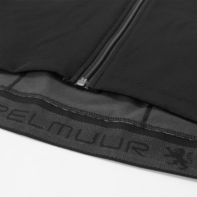 リオン・ド・カペルミュール ウインドプルーフジャケット ブラック×グレー