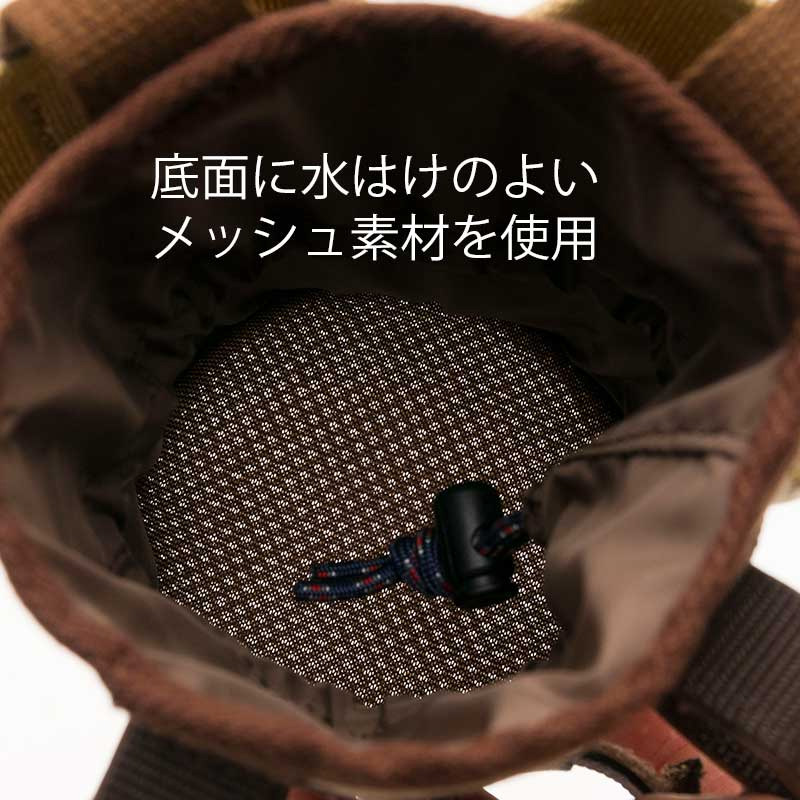 リンプロジェクト 【5100】マルチボトルホルダー キャンバス ベージュ