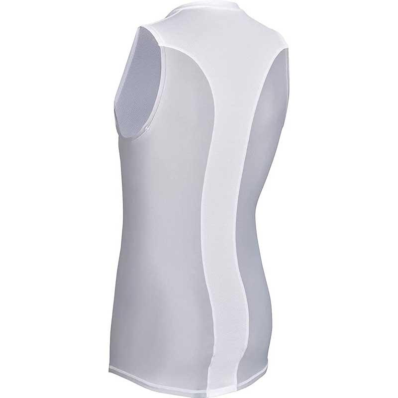 COCOMI 心拍計測用サイクリングアンダーシャツ 01.ホワイト 東洋紡