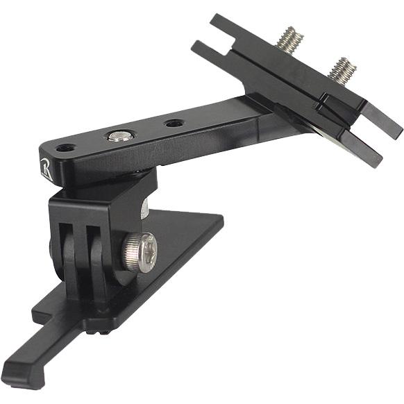レックマウント REC-030RCON-45 回転式サドルレールマウント タイプ2 for コンツアー アクションカメラ 45°
