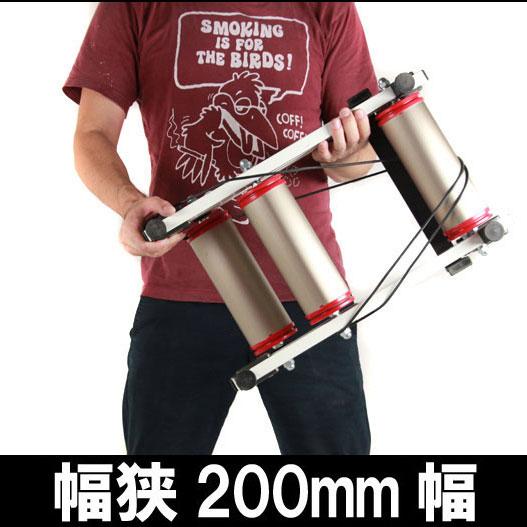 ミノウラ アップローラー(UPROLLER) 200mm幅(チタンカラーローラー)