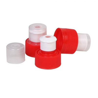 【特急】【M便】TNI ペットボトル用キャップ(レッド) 3個入り ペットボトル対応
