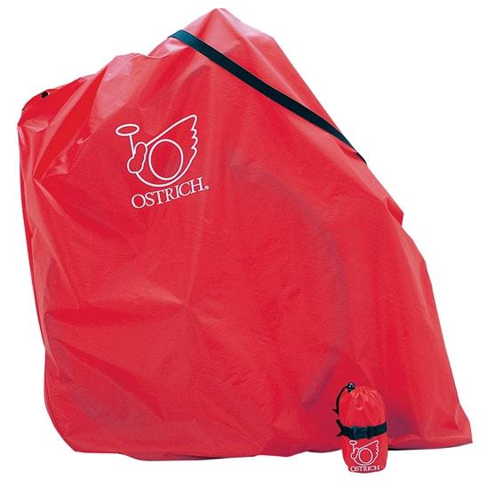 【輪行マニュアルプレゼント】オーストリッチ  L-100 レッド 輪行袋 軽量型 ワンタッチバックル