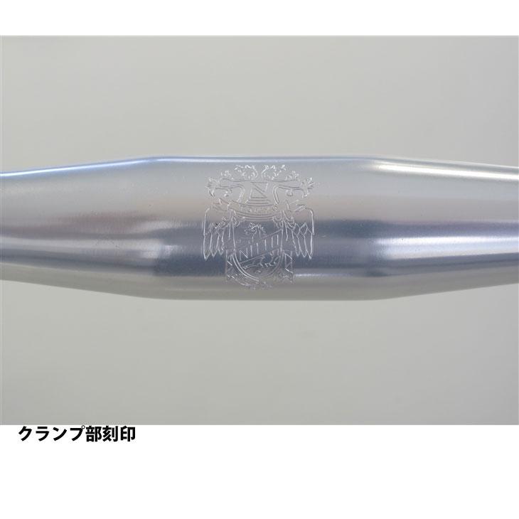 日東 B135 AA SSB ハンドルバー バークランプ径:31.8mm ドロップハンドル