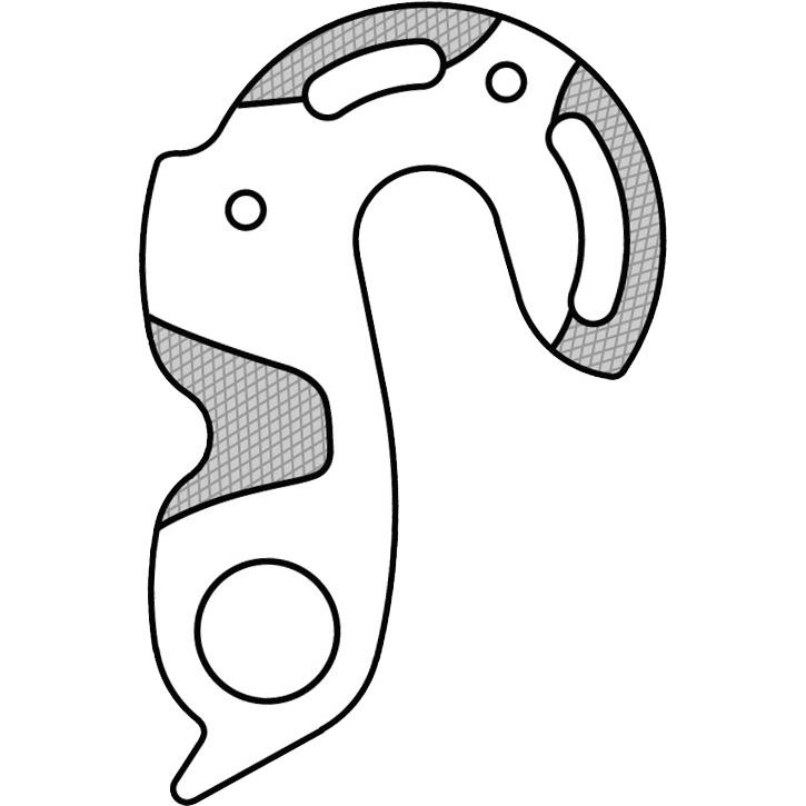 【M便】マーウィー GH-125 CANNONDALE  ディレイラーハンガー