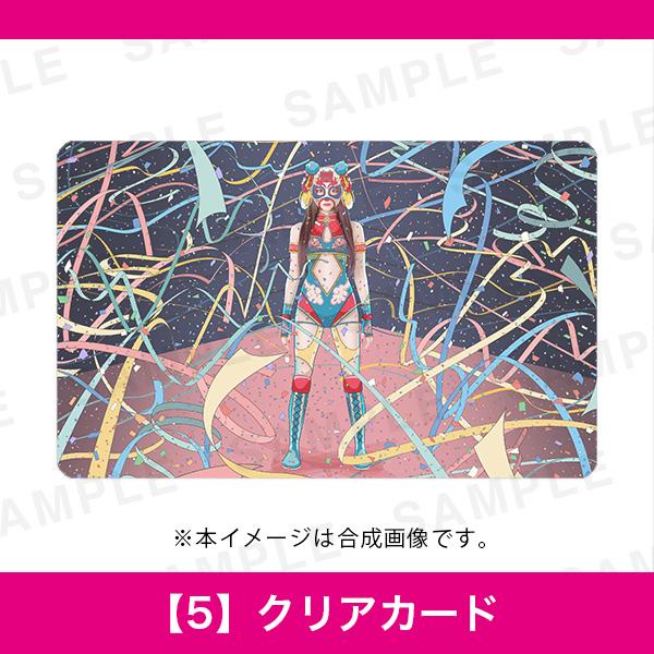 百人百色展3|REO spikee レオスパイキー|【5】クリアカード