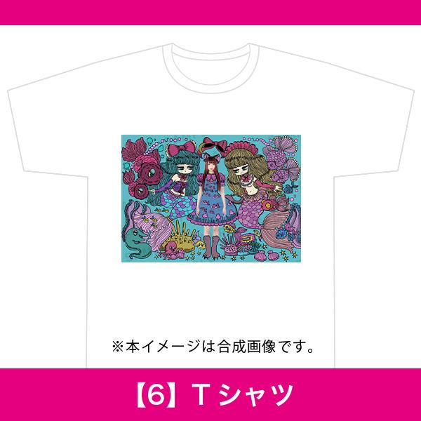 百人百色展3|ヨシジマシウ|【6】Tシャツ
