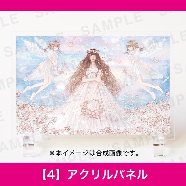 百人百色展3|momochy|【4】アクリルパネル