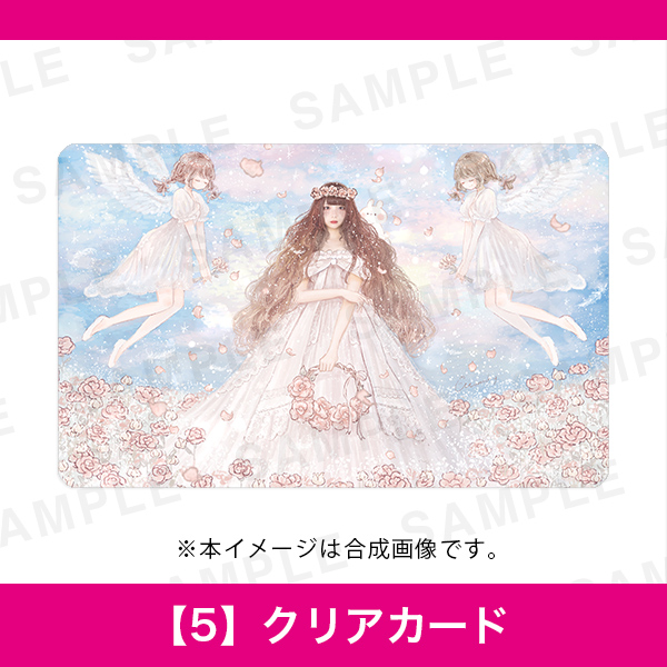 百人百色展3 momochy 【5】クリアカード