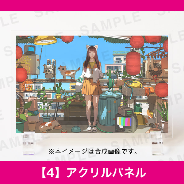 百人百色展3|TAO|【4】アクリルパネル