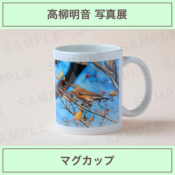 高柳明音 マグカップ(全3種)