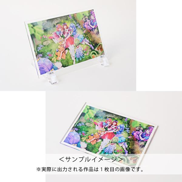 百人百色展3 やぎこ 【4】アクリルパネル