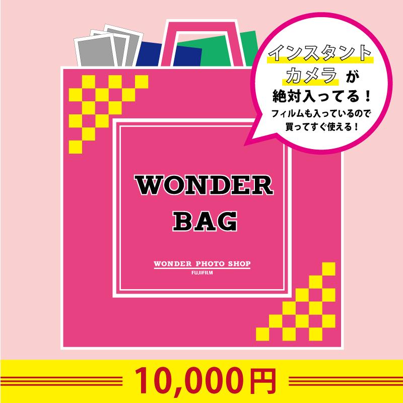 【インスタントカメラが絶対入ってる!】ワンダーバッグ|10,000円