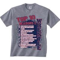 イメージスポーツ・Top Ten New Tシャツ 17