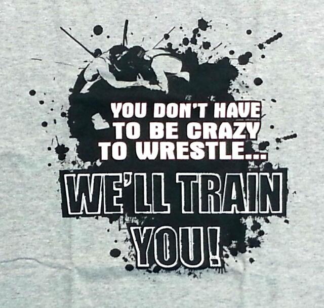 イメージスポーツ・Crazy to be a Wrestler Tシャツ 15