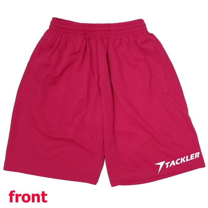 TACKLER・ドライ レスリングハーフパンツ [ピンク]