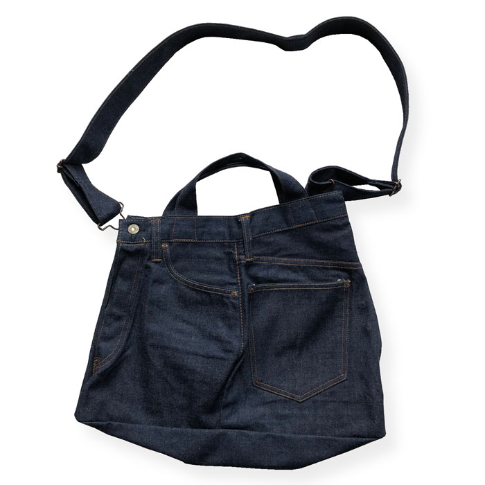 5POCKET REMAKE DENIM BAG