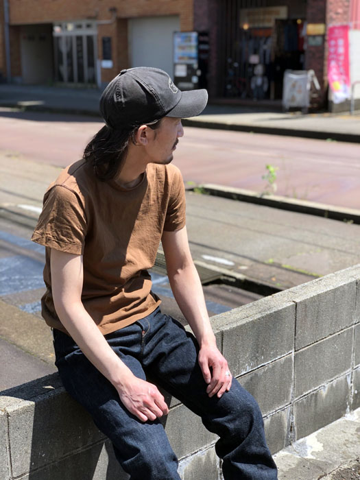 """MFSC""""MADE IN USA""""COTTON JERSEY SKIVVY TEE"""
