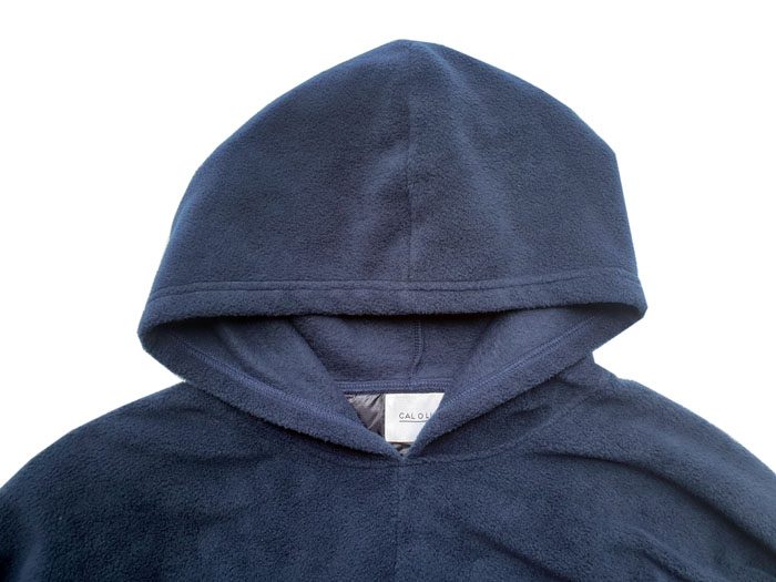 LIGHT WEIGHT FLEECE PULL PARKA