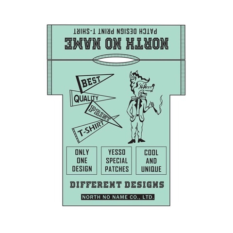 PATCH DESIGN PRINT T-SHIRTS