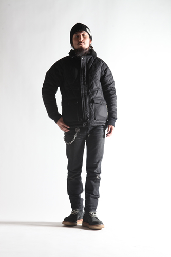 ALL NEW RACING DOWN JKT2 RELAX FIT with WIND GUARD BLK