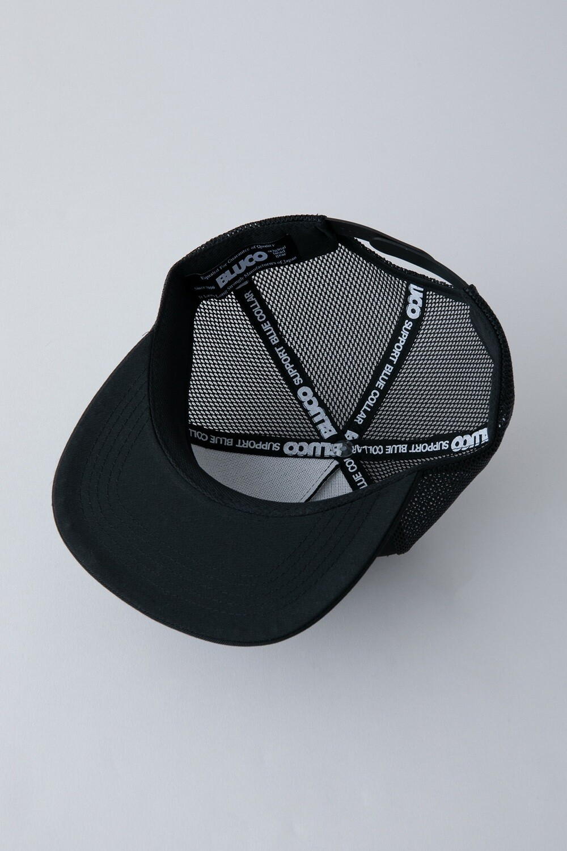 MESH CAP -circle patch-
