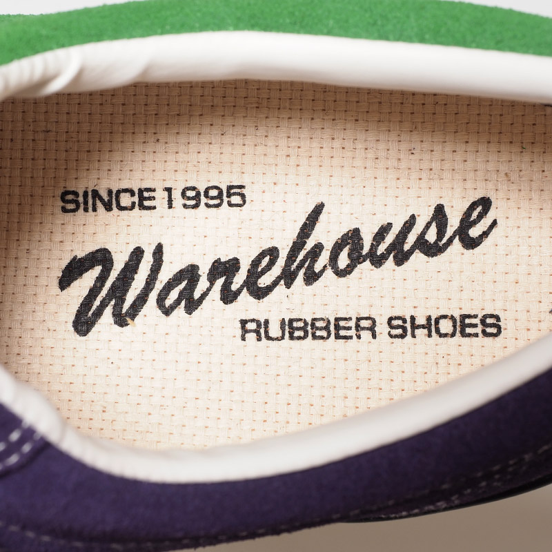 WAREHOUSE Lot 3400 SUEDE SNEAKER クレイジーパターン
