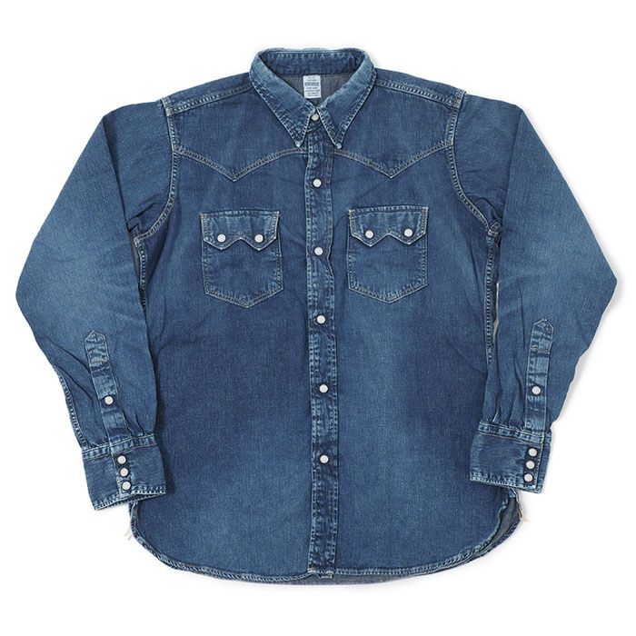 2ND-HAND DENIM WESTERN SHIRTS