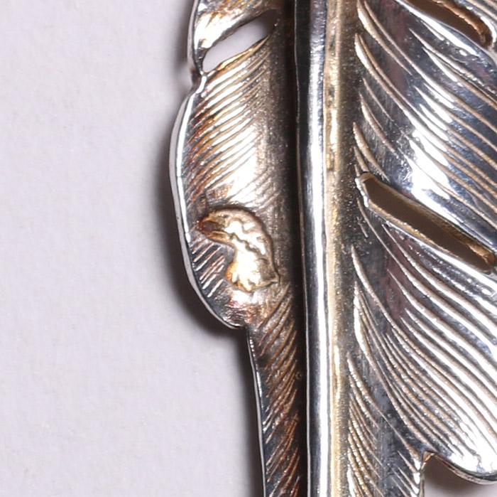 EFNL-0046 18K EAGLE HEAD KAZEKIRI FEATHER M RIGHT
